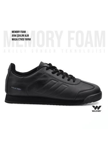 Walkway Artos Memory Foam Spor Ayakkabı Siyah